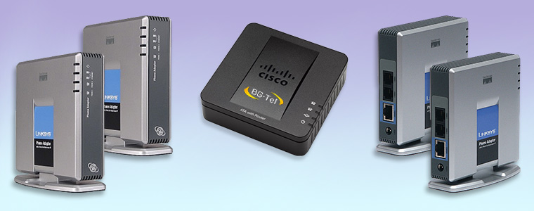 Linksys PAP, Cisco SPA
